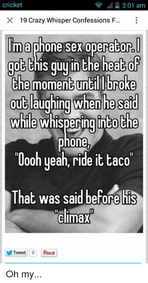 confessions on whisper