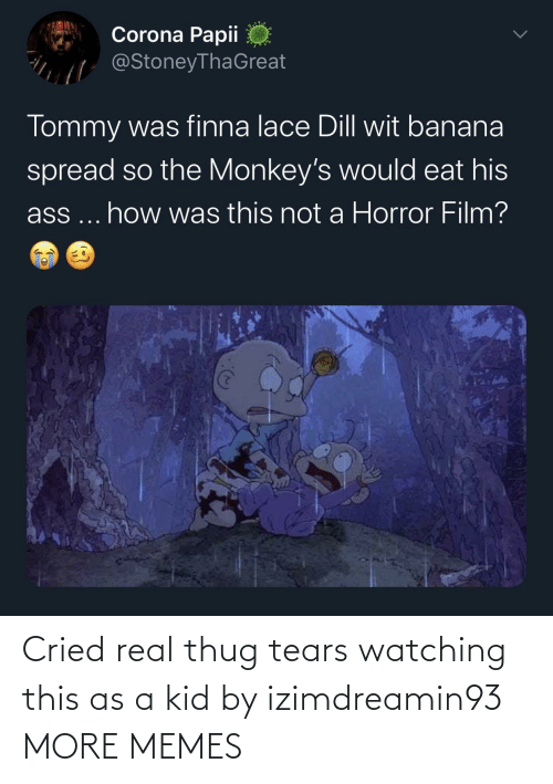 Dank, Memes, and Target: Cried real thug tears watching this as a kid by izimdreamin93 MORE MEMES