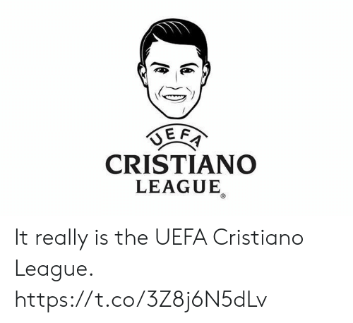 Soccer, League, and Uefa: CRISTIANO  LEAGUE It really is the UEFA Cristiano League. https://t.co/3Z8j6N5dLv