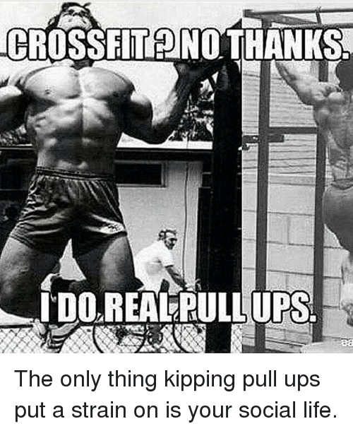 Only Pull Ups