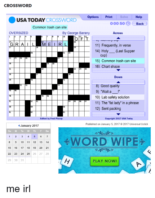 crossword options print solve help crossword 00050 back usa today