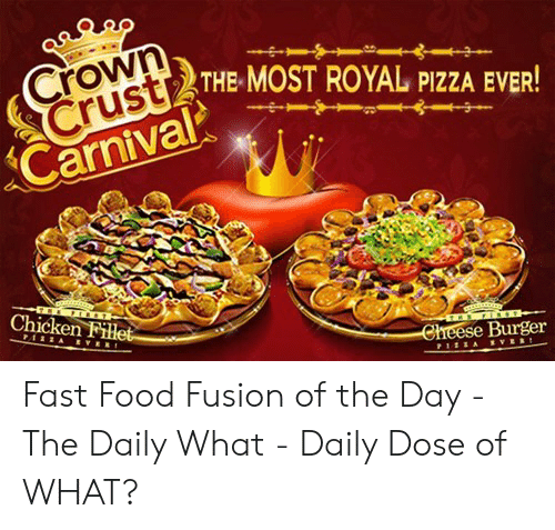 Crown Crust Carnivaroya The Most Royal Pizza Ever Chicken