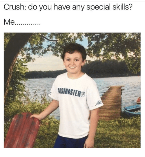 please list any special skills