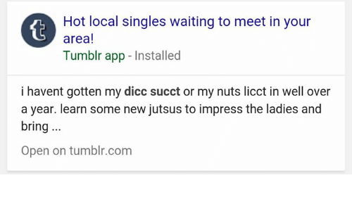 text local singles