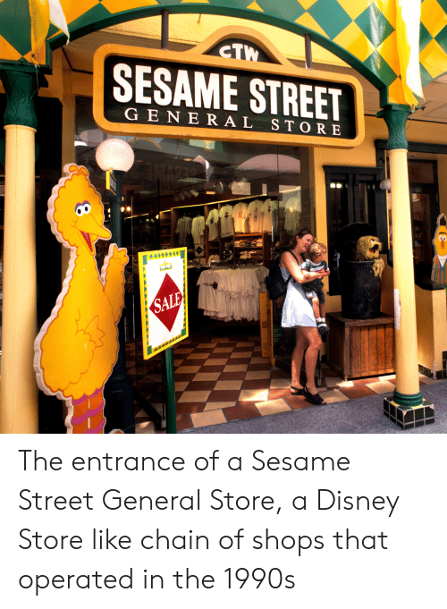 CTW SESAME STREET GENERAL STORE NARTO RED SALE SALE SALE the