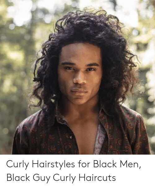 Curly Hairstyles for Black Men Black Guy Curly Haircuts ...