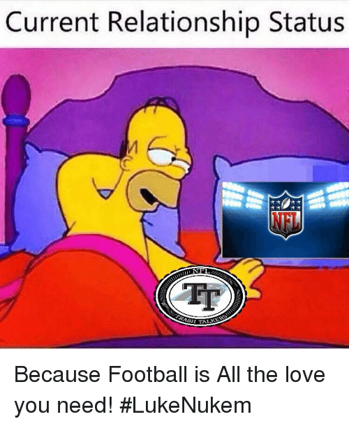 Current Relationship Status NFT Because Football Is All the