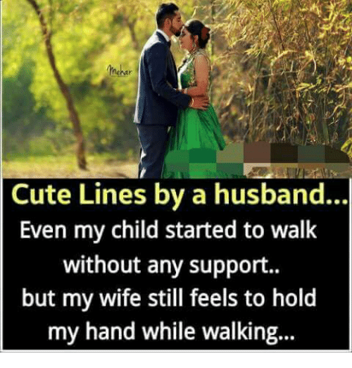 cute lines for husband
