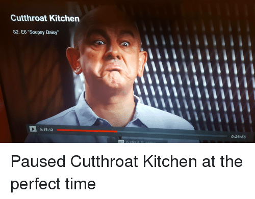 Cutthroat Kitchen S2 E6 Soupsy Daisy 01512 Audio 02656