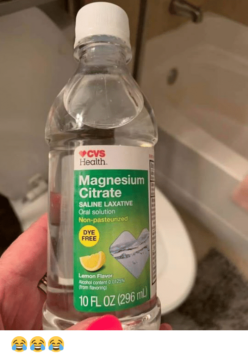 CVS Health Magnesium Citrate SALINE LAXATIVE Oral Solution
