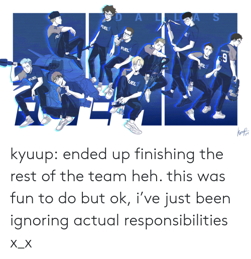 Tumblr, Blog, and Been: D AA S kyuup:  ended up finishing the rest of the team heh. this was fun to do but ok, i've just been ignoring actual responsibilities x_x