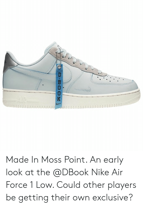 afaff9402f D-Book Made in Moss Point an Early Look at the Nike Air Force 1 Low ...