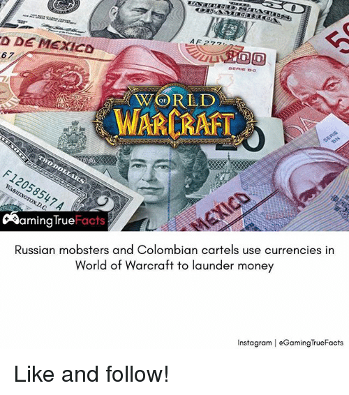 Facts Memeoney D De Mexico Warcraft Russian Mobsters And Colombian