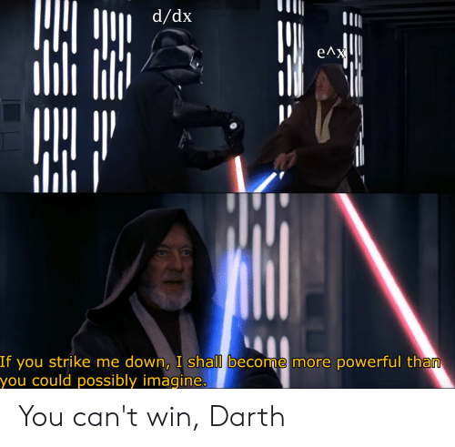 Strike Me Down And I Will