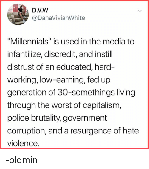 Image result for millennial is the term we use to infantilize