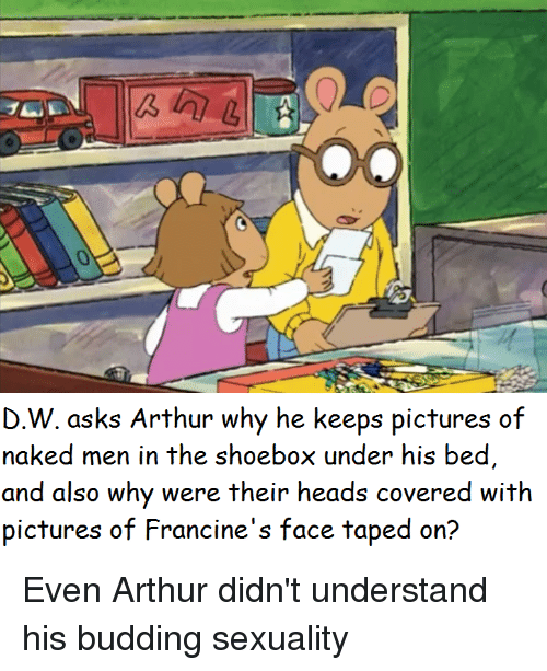 Arthur and dw naked