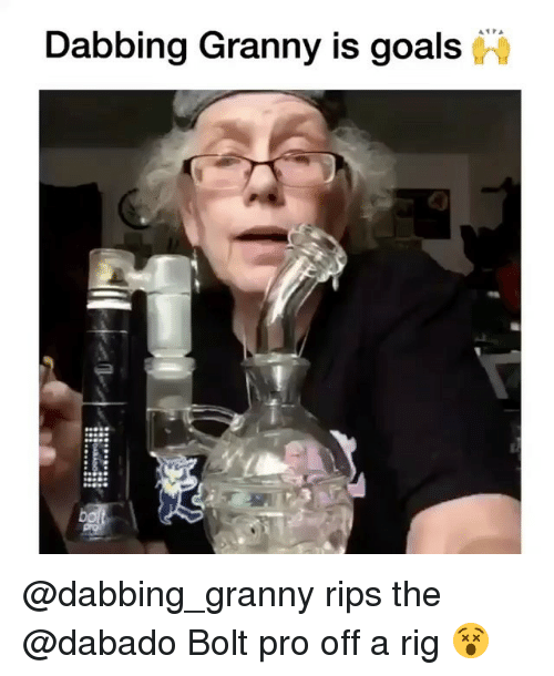 Goals, Memes, and Pro: Dabbing Granny is goals @dabbing_granny rips the @dabado Bolt pro off a rig 😵