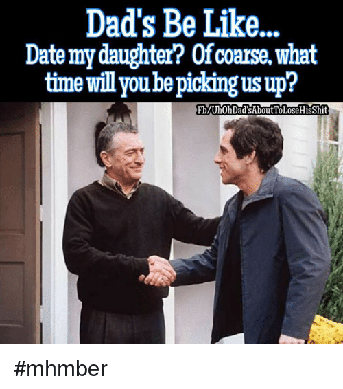 Dating my daughter sharing point