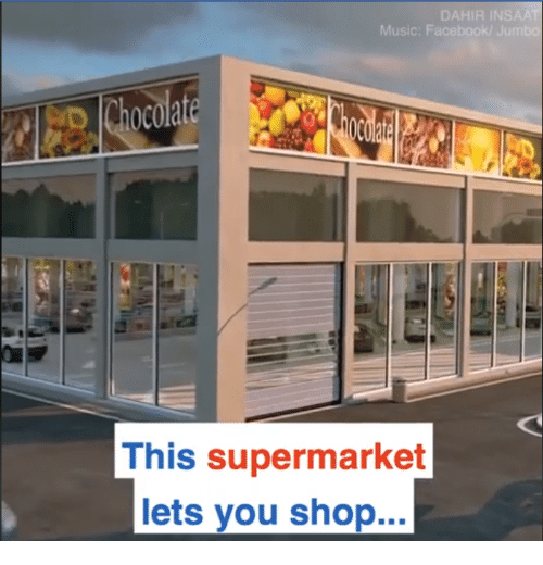 DAHIR INS Music This Supermarket Lets You Shop | Music Meme