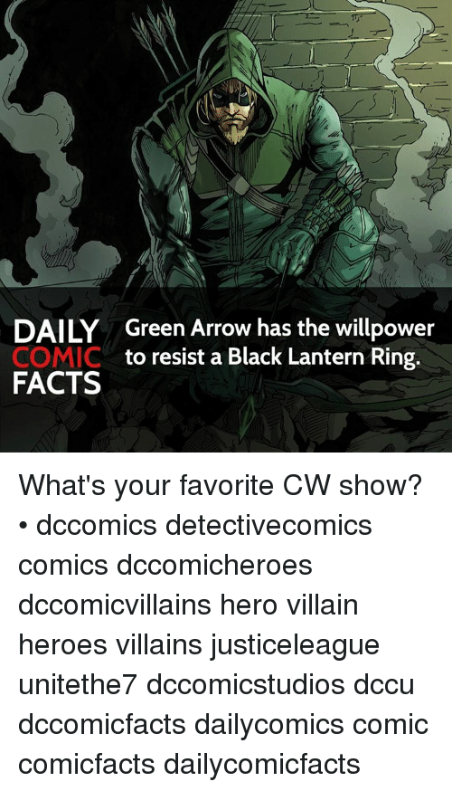 daily green arrow has the willpower comic to resist a black lantern