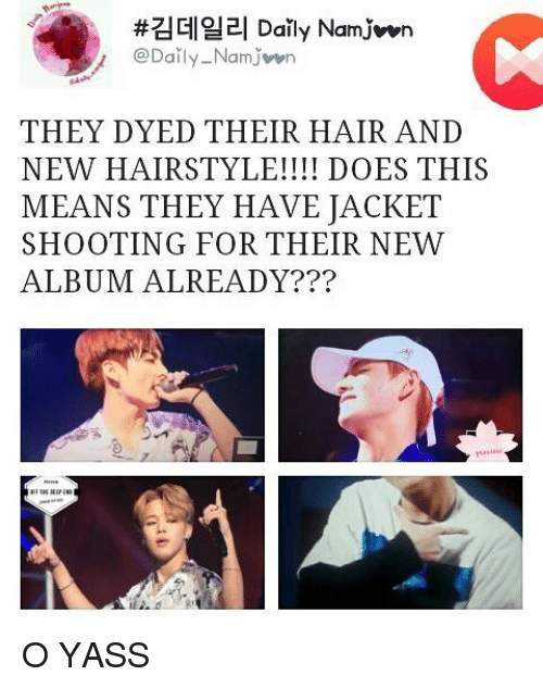 Namwon They Dyed Their Hair And New Hairstyle Does This Means