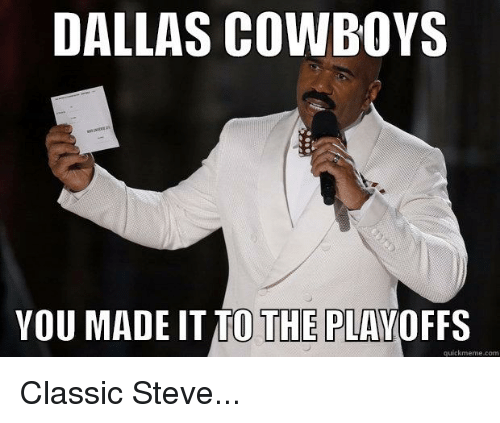 dallas cowboys you made itio the playoffs quick meme com 2038180 ✅ 25 best memes about cowboys winning cowboys winning memes