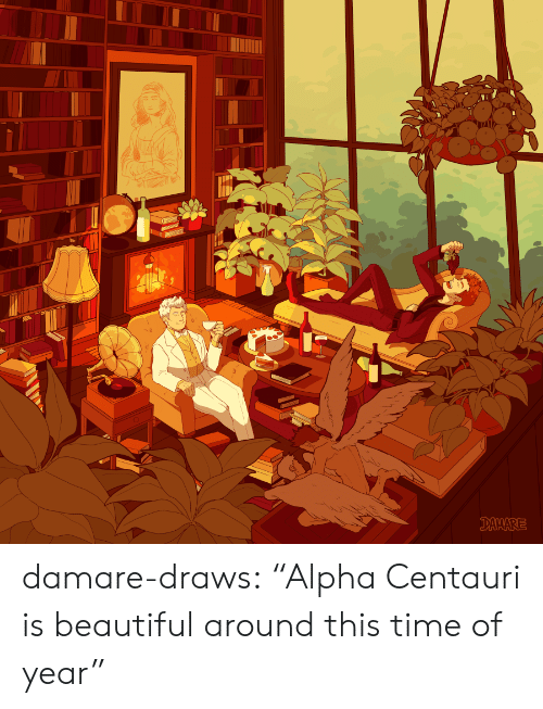 """Beautiful, Target, and Tumblr: DAMARE damare-draws:    """"Alpha Centauri is beautiful around this time of year"""""""