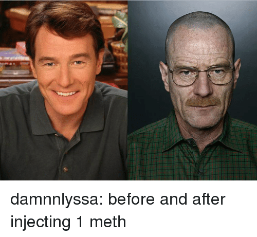Tumblr, Blog, and Http: damnnlyssa:  before and after injecting 1 meth