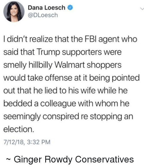 Dana Loesch I Didn't Realize That the FBI Agent Who Said