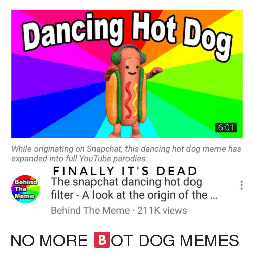 Dancing Hot Dog With Hitler