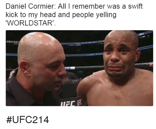 daniel cormier all i remember was a swift kick to 26412793 daniel cormier all i remember was a swift kick to my head and people