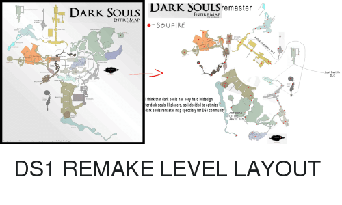 DARK SOULSremaster DARK SOULS ENTIRE MAP POR FPE RAMOS ...