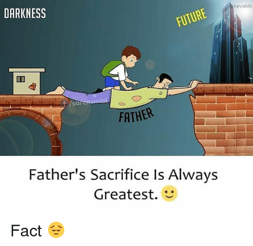 Image result for father sacrifice