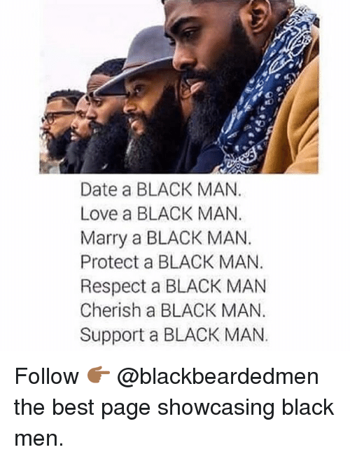 For dating a black man