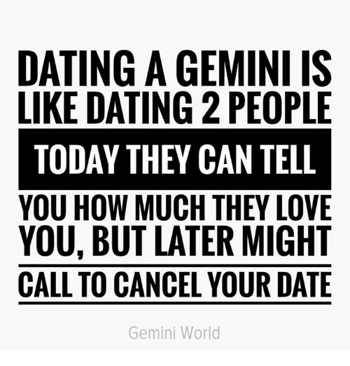 Geminis dating geminis