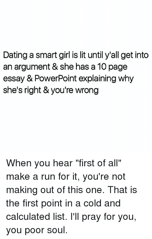 Lit Girl A Dating Smart Is