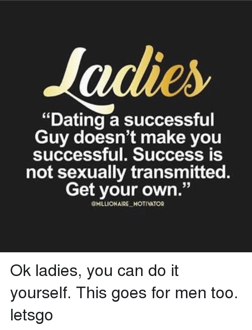 dating a successful man