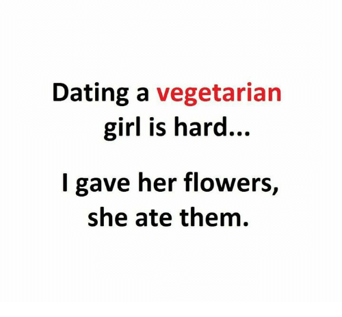 Dating a vegan girl