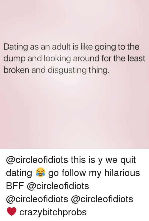 Adults dating are we gonna do good