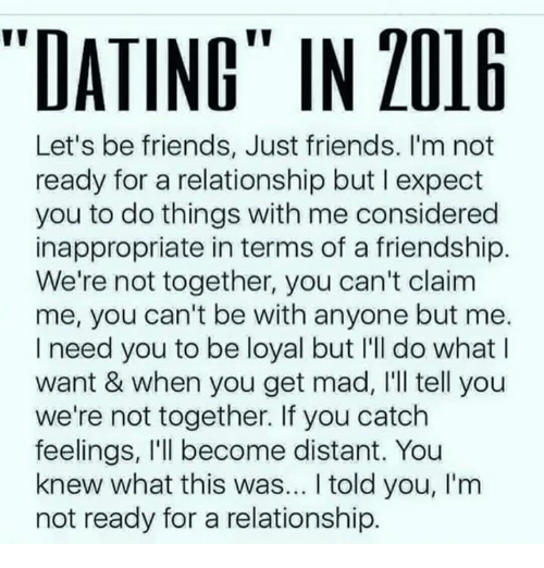 Going from just friends to dating