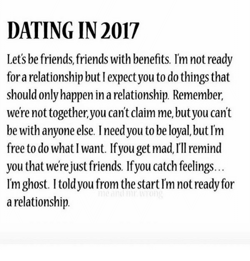 Friend with benefits dating someone