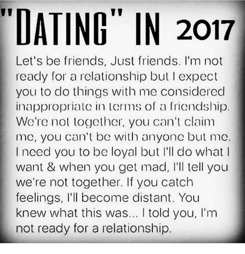 dating in 2017