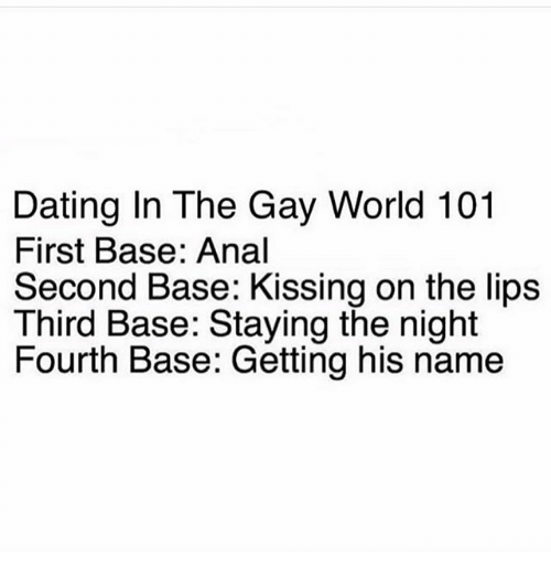 What is first base second base in dating