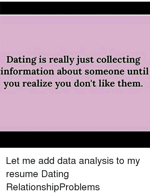 information about dating