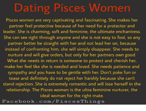 How to deal with pisces woman