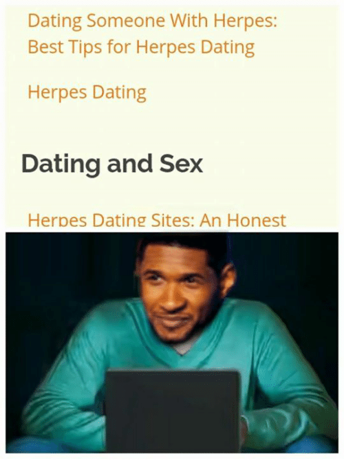 Dating someone who has herpes