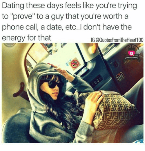 Dating site meme guy on phone