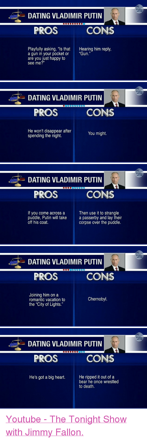 Jimmy fallon pros and cons of dating putin