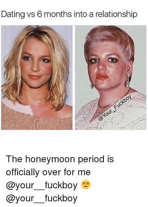 How long does the honeymoon period last when dating