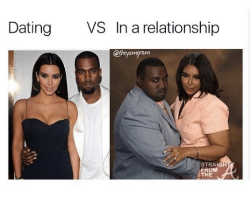 Dating, Relationships, and In a Relationship: Dating  VS In a relationship  STRAt  FROM  THE